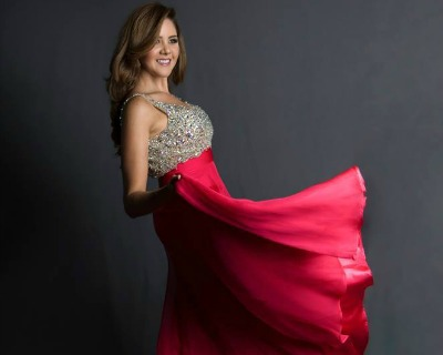 Miss Ecuador 2016 contestants Evening Gown Photoshoot