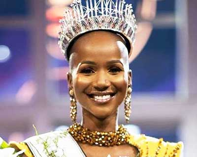 Shudufhadzo Musiḓa crowned Miss South Africa 2020