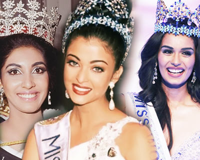 Then and Now: Miss World winners from India