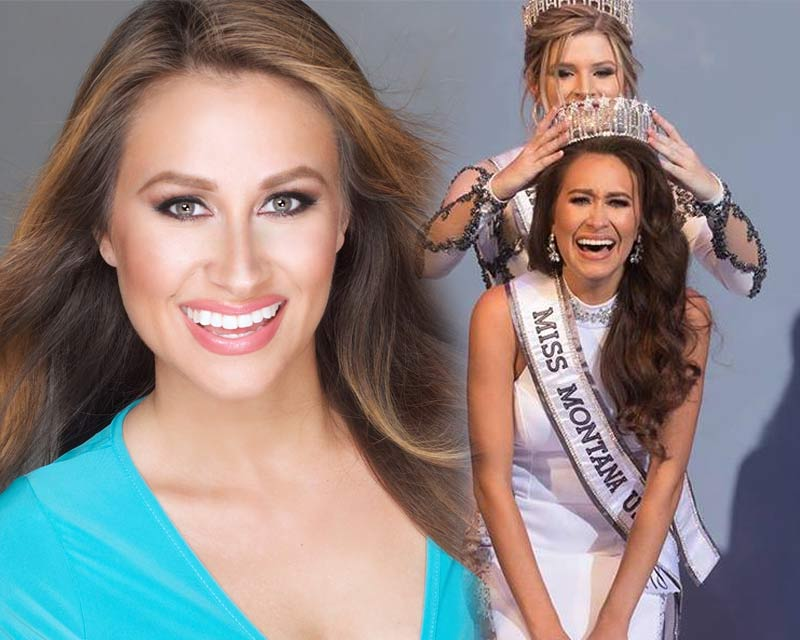 Dani Walker crowned Miss Montana USA 2018 for Miss USA 2018
