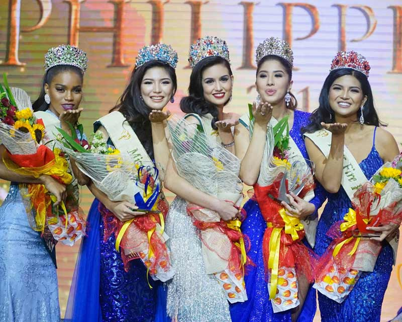 Miss Philippines Earth 2018 Top 5 Question and Answer round