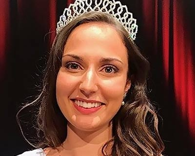 Julie Foricher crowned Miss Bretagne 2020 for Miss France 2021