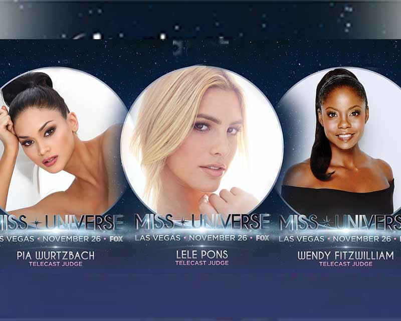 An exciting set of jury this year at Miss Universe 2017