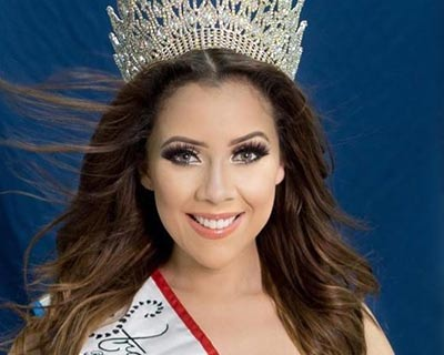 Natalhia Escobar appointed Miss Earth Paraguay 2020