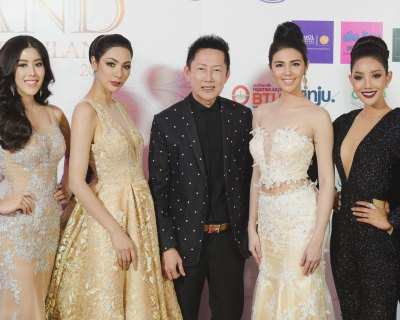 Miss Grand Thailand 2017 Press Conference attended by Ariska Putri