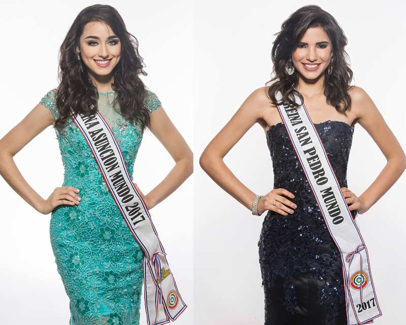 Meet the contestants of Miss World Paraguay 2017