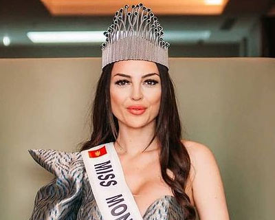 Natalia Labovic crowned Miss World Montenegro 2020/21