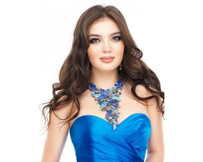 Darina Kulsitova of Kazakhstan vying for the title of Miss Universe 2016