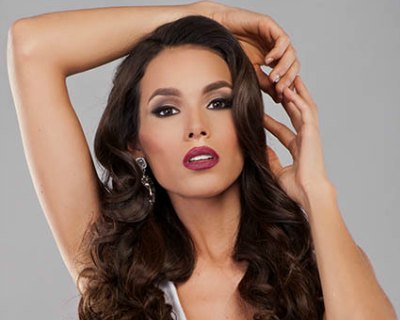 Chile's delegate Catalina Paz Cáceres is vying at the Miss Universe 2016 pageant