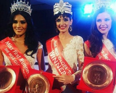 Dimple Patel of India crowned as The Miss Globe 2016