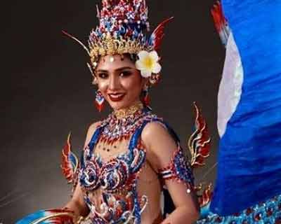 Thai fans express anger over Miss Grand Laos 2020's 'copied' fish national costume