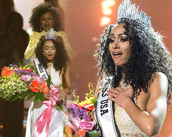 Kára McCullough crowned as Miss USA 2017