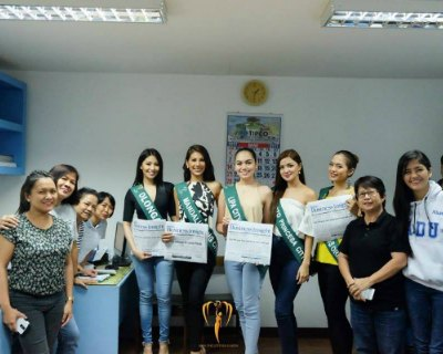 Miss Philippines Earth 2017 contestants exciting Media Tour