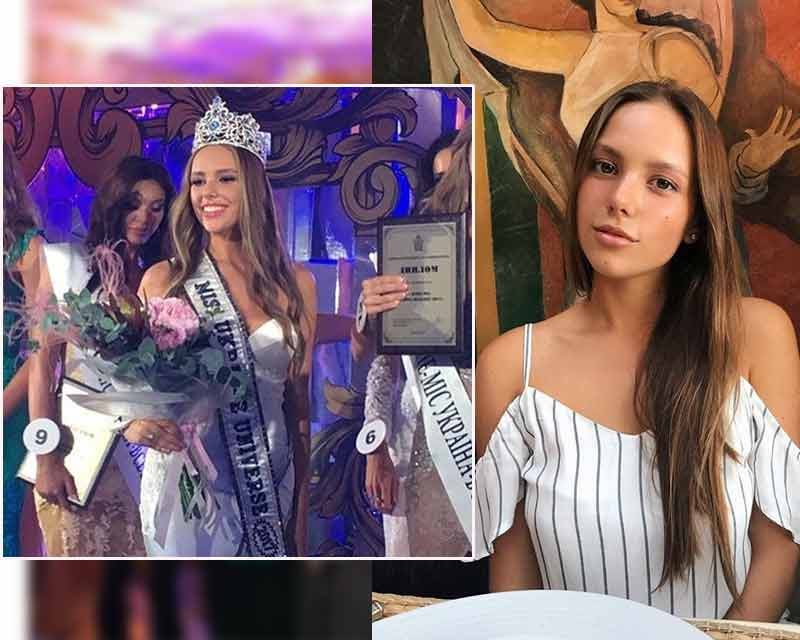 Yana Krasnikova crowned as Miss Ukraine Universe 2017