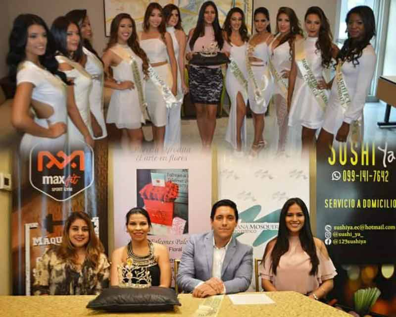 Miss Earth Ecuador 2017 finalists graced the press presentation