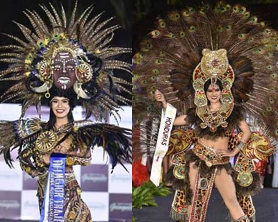 Lisseth Naranjo triumphs at National Costume Competition of Reina Hispanoamericana 2018