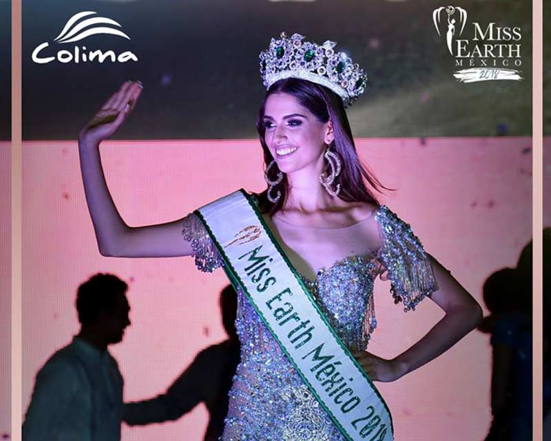 Melissa Flores Godínez crowned Miss Earth Mexico 2018
