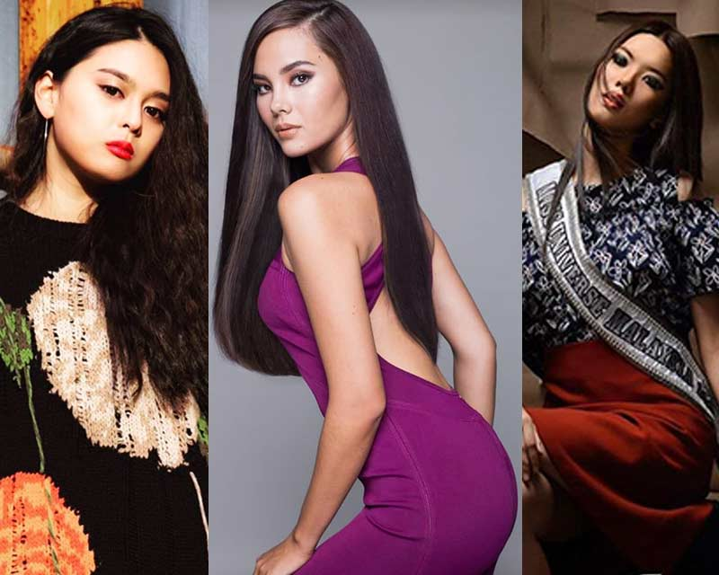 Miss Universe 2018 Top 3 official photoshoots by Angelopedia: 1st Trimester