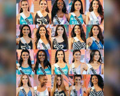 Miss Universe 2016 contestants visit Davao City