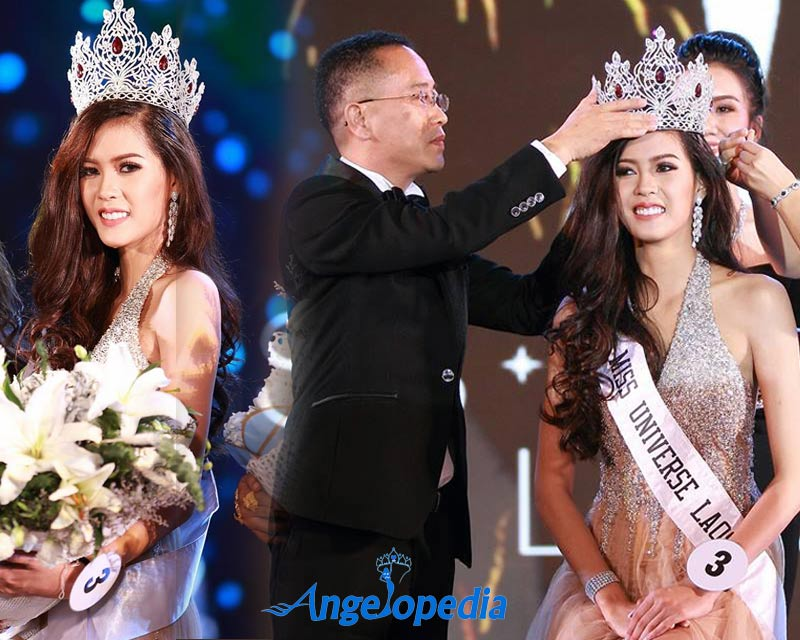 Souphaphone Somvichith crowned Miss Universe Laos 2017