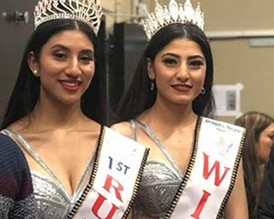 Nirusha Khatri crowned Miss Nepal Europe 2020