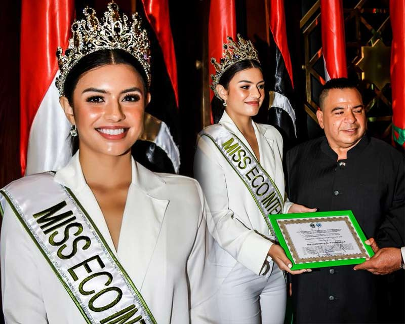 Miss Eco International 2018 Cynthia Thomalla appointed United Nations ambassador