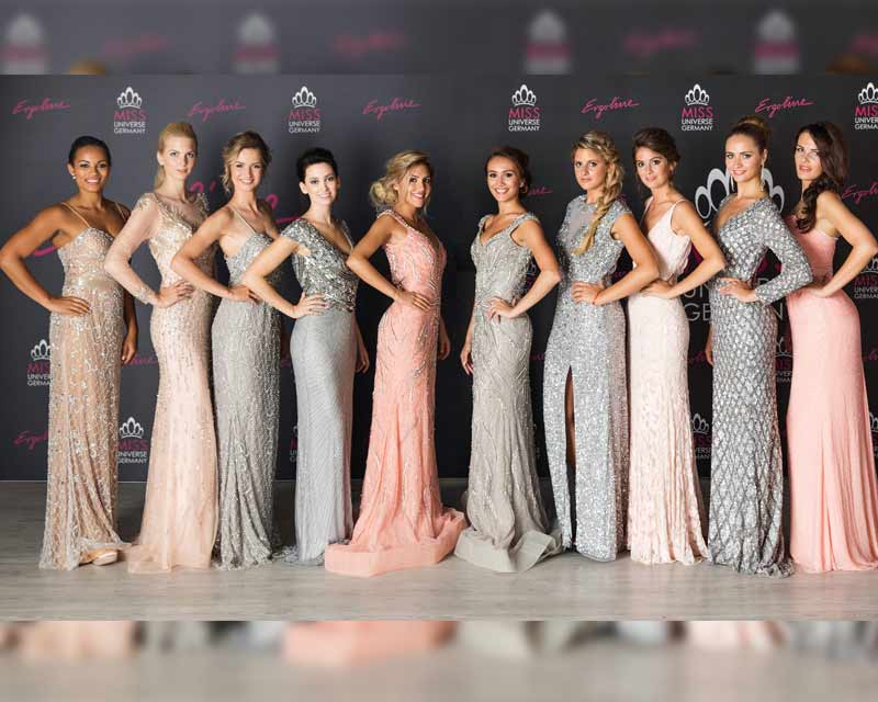 Finalists of Miss Universe Germany 2017