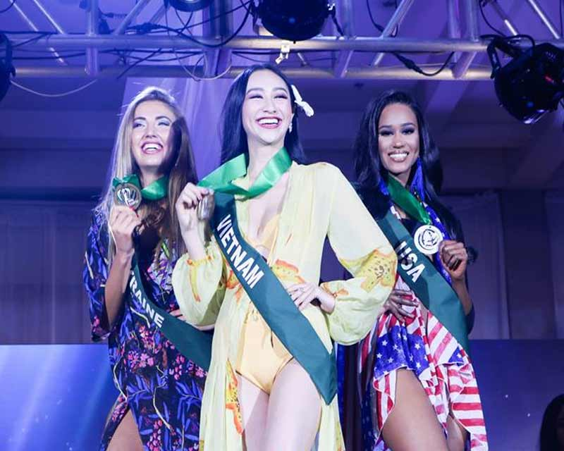Miss Earth 2017 Resort Wear Competition winners