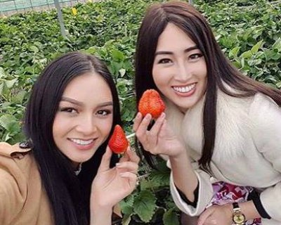 Kylie Verzosa and Natsuki Tsutsui step up on their duties in Japan