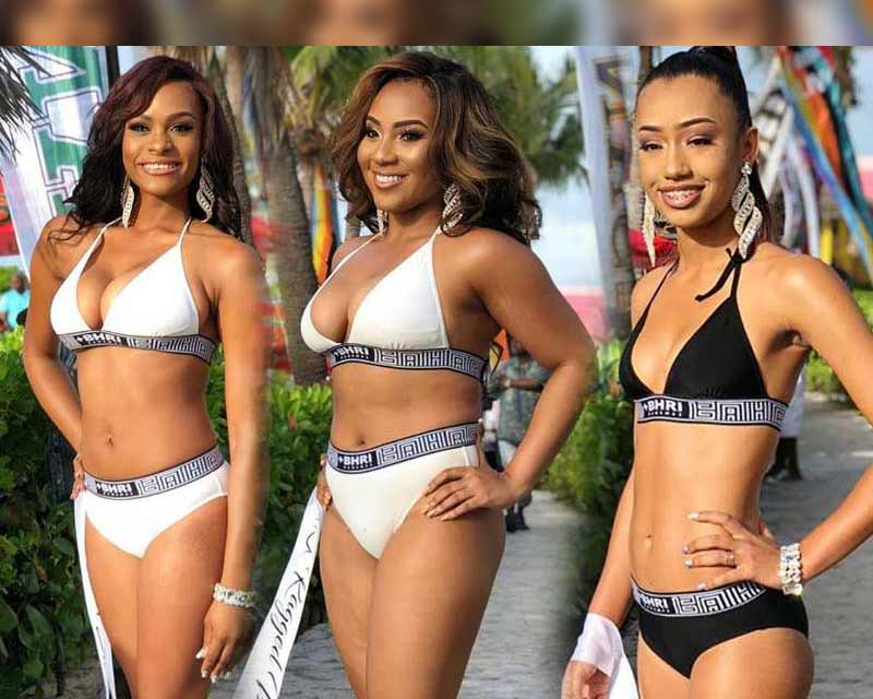 Miss Bahamas 2018 Swimsuit and Top Model competition