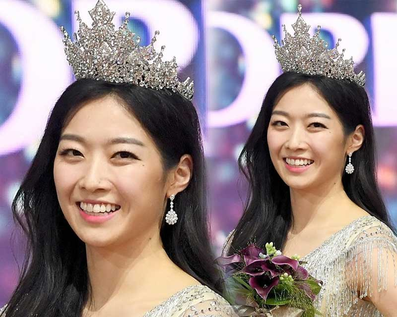 Kim Soo Min crowned Miss Korea 2018