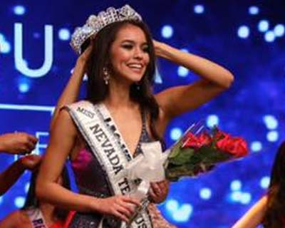 Victoria Olona crowned Miss Nevada USA 2020 for Miss USA 2020