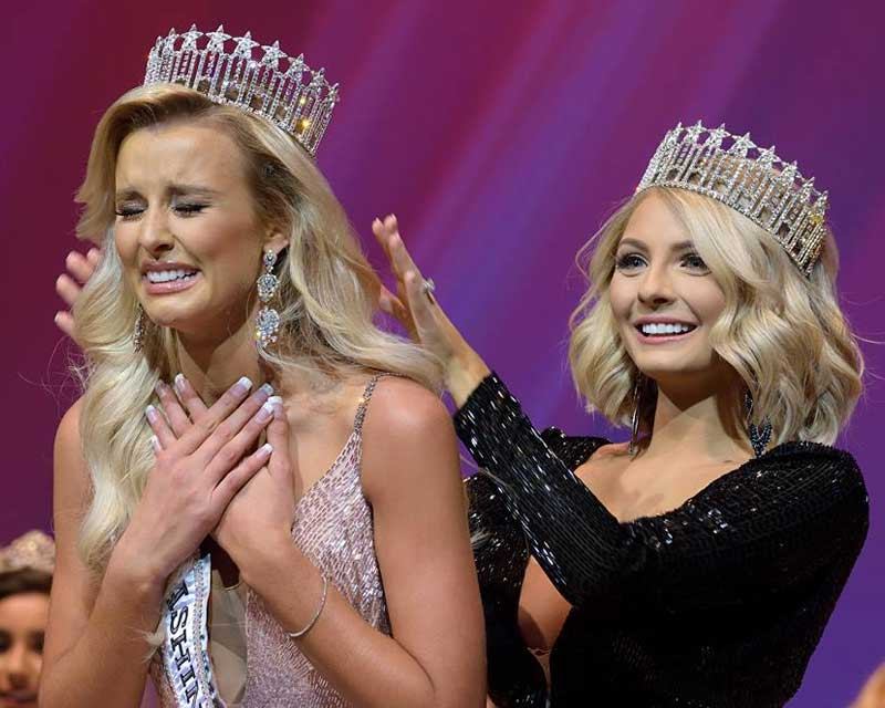 Abigail Hill crowned Miss Washington USA 2018 for Miss USA 2018