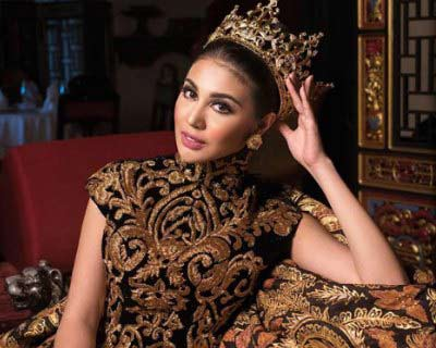 Ariska Putri to visit Ukraine to attend Final Coronation of Queen of Ukraine 2017