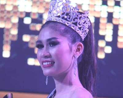 May Thadar Ko crowned Miss Earth Myanmar 2019