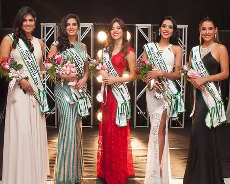 Miss Grand Paraguay 2018 awarding of subsidiary titles
