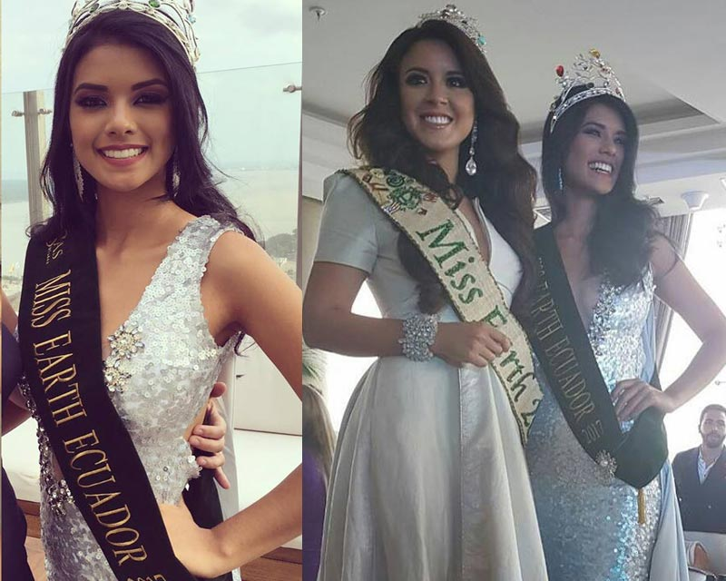 Lessie Giler crowned Miss Earth Ecuador 2017