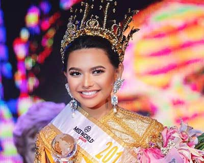 Gianna Sgambelluri crowned Miss World Guam 2018
