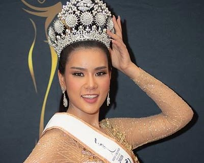 Popcorn Phanida crowned Miss Grand Samut Sakhon 2020 for Miss Grand Thailand 2020