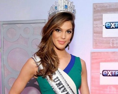Iris Mittenaere busy with Media Tours as Miss Universe