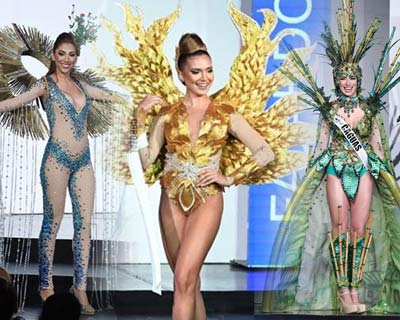 Miss Universe Puerto Rico 2017 Top 10 National Costumes