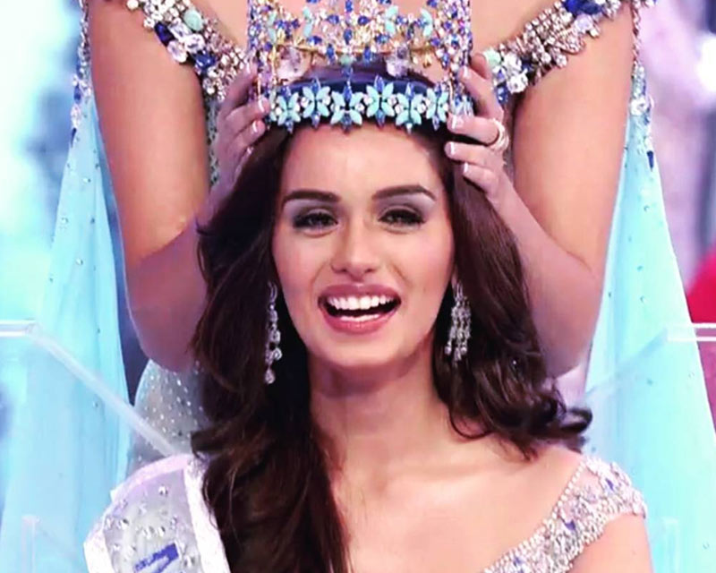 Manushi Chhillar from India crowned Miss World 2017!
