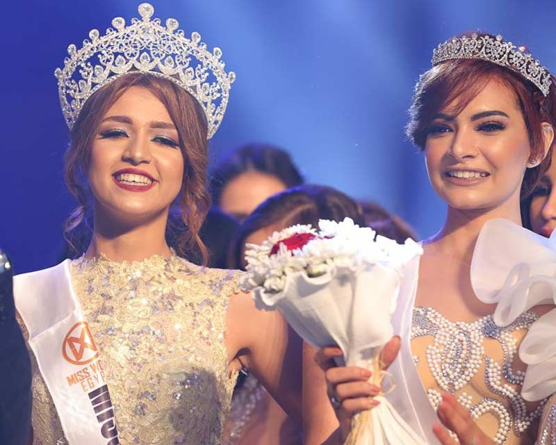 Farah Shaaban crowned Miss World Egypt 2017