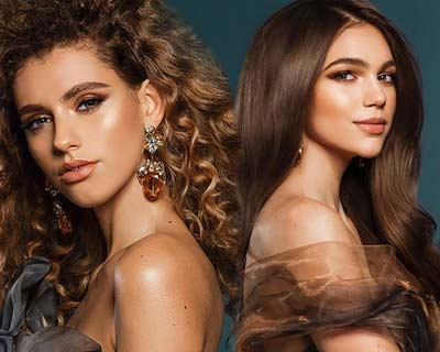 Our favourites from official portrait shots of Miss Czech Republic 2020