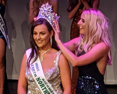 Shannon McCullagh crowned Miss Earth Northern Ireland 2019