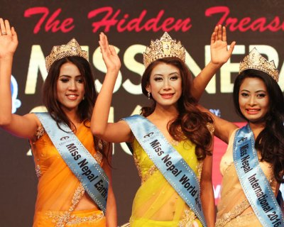 Check out Nepal's escalating graph at Beauty Pageants this year