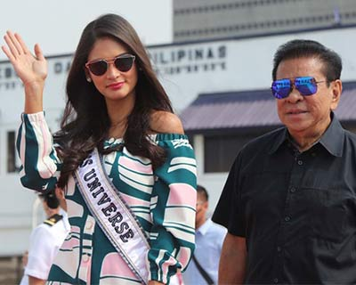 Miss Universe 2016 contestants visit Philippine Navy headquarters