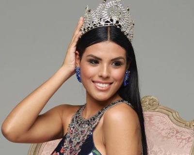 Clarisse Uribe Cruces replaces Estefany Mauricci as the new Miss World Peru 2018