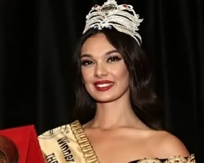 Lorinda Kolgeci of Kosovo crowned The Miss Globe 2020