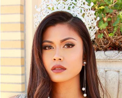 Katrina Jayne Dimaranan departs for Poland to begin her journey in Miss Supranational 2018